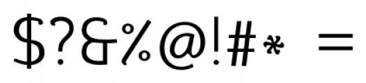 silent regular Font OTHER CHARS