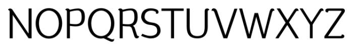 silent regular Font UPPERCASE