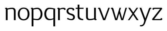 silent regular Font LOWERCASE