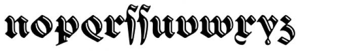 Sibyl_Alternates Font LOWERCASE