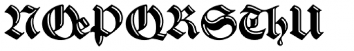 Sibyl_Ligatures Font UPPERCASE