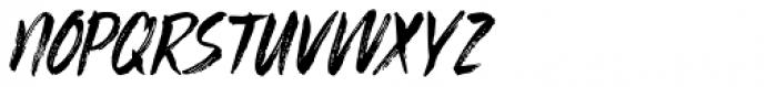 Sibylle Italic Font UPPERCASE