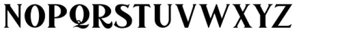 Sicero Roman Font UPPERCASE