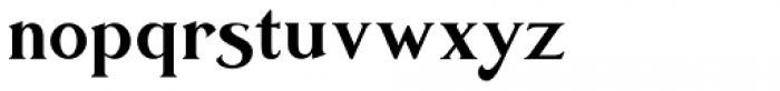 Sicero Roman Font LOWERCASE