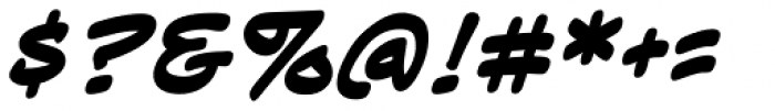 Sidekick BB Bold Font OTHER CHARS