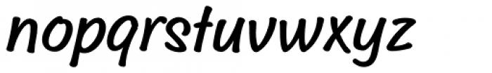 Sideline Bold Font LOWERCASE