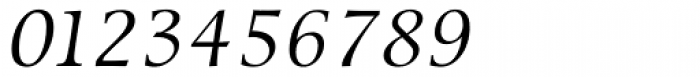 Sierra Italic Font OTHER CHARS