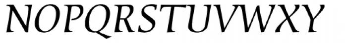 Sierra Italic Font UPPERCASE