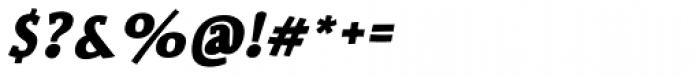 Siggy Bold Italic Font OTHER CHARS