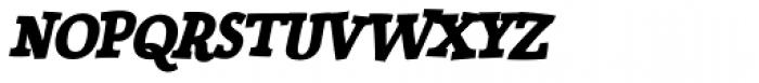 Siggy Bold Italic Font UPPERCASE