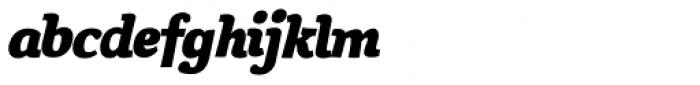 Siggy Bold Italic Font LOWERCASE