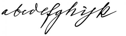 Sigmund Freud Typeface #1 Font LOWERCASE