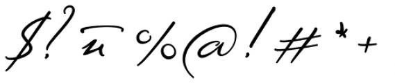 Sigmund Freud Typeface #2 Font OTHER CHARS