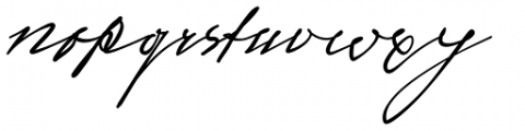 Sigmund Freud Typeface #3 Font LOWERCASE