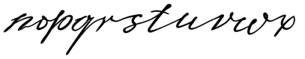 Sigmund Freud Typeface #4 Font LOWERCASE