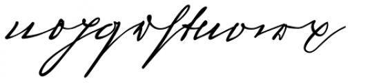 Sigmund Freud Typeface Kurrent Font LOWERCASE