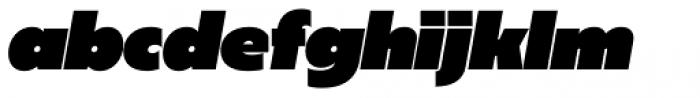 Sigmund Heavy italic Font LOWERCASE
