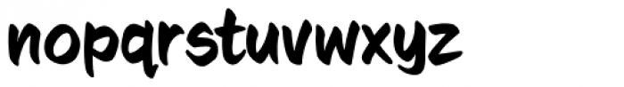 Sign Language Font LOWERCASE