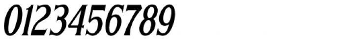 Sign Letters Oblique JNL Font OTHER CHARS