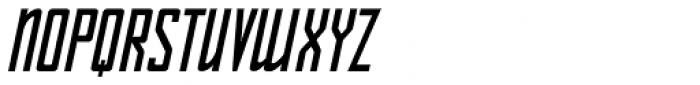 Sign Shop Bold Oblique JNL Font UPPERCASE