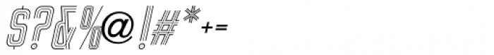 Sign Studio Oblique Font OTHER CHARS