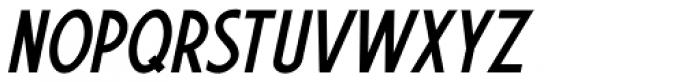 Sign Vendor Oblique JNL Font UPPERCASE