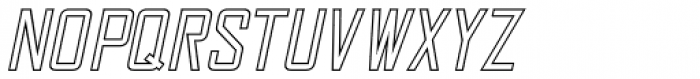 Sign and Display JNL Oblique Font LOWERCASE