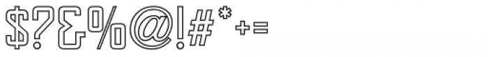 Sign and Display JNL Regular Font OTHER CHARS