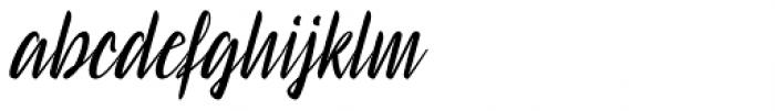 Signaturistar Font LOWERCASE