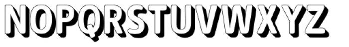 Signor 3D Font UPPERCASE