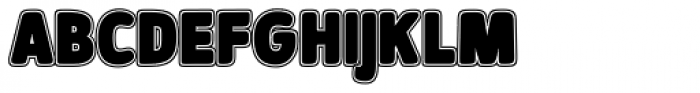 Signor Ultra Font LOWERCASE