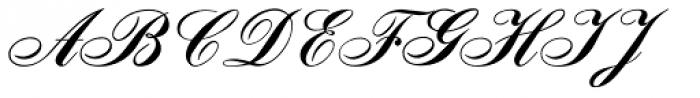Signpainters Script Font UPPERCASE