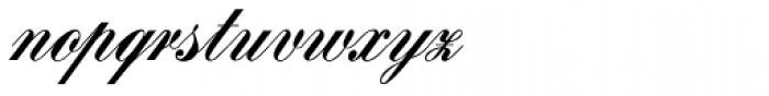 Signpainters Script Font LOWERCASE