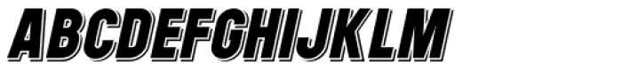 Signpost Italic Font UPPERCASE