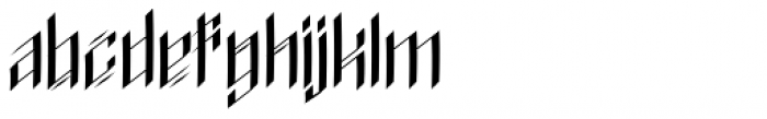 Signs Of Faith Font LOWERCASE