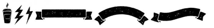 Signyard Symbols Font UPPERCASE