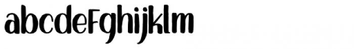 Sigwald Regular Font LOWERCASE