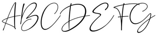 Silence Rocken Regular Font UPPERCASE