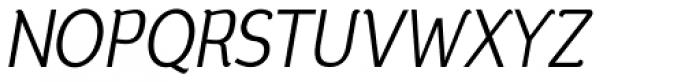 Silent Italic Font UPPERCASE