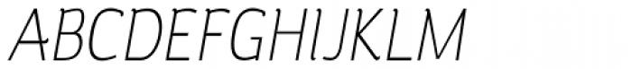 Silent Light Italic Font UPPERCASE