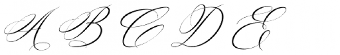 Silenter Regular Font UPPERCASE