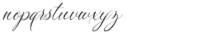 Silenter Regular Font LOWERCASE