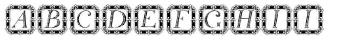 Silius Engraved 2 Font LOWERCASE