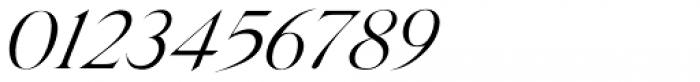 Silk Serif Light Italic Font OTHER CHARS