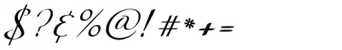 Silken Thread Font OTHER CHARS