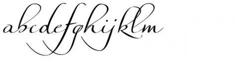Silken Thread Font LOWERCASE