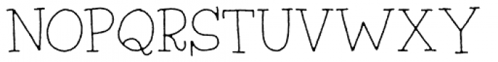 Silly Notes Regular Font UPPERCASE