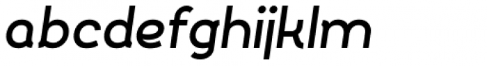 Silo Bold Italic Font LOWERCASE