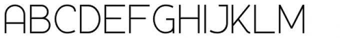 Silo Light Font UPPERCASE