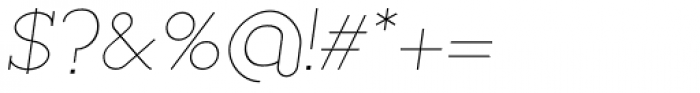 Silo Slab Extra Light Italic Font OTHER CHARS